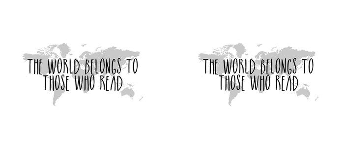 The World Belongs to those Who Read Coffee Mug