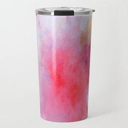 Blush Song #1 Original Painting by Rachael Rice Travel Mug