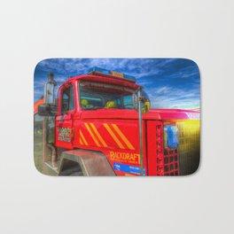 Backdraft Fire Truck Bath Mat