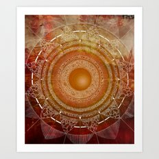 Svadhisthana (carnal knowledge) Art Print