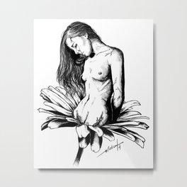 De-flowered Metal Print