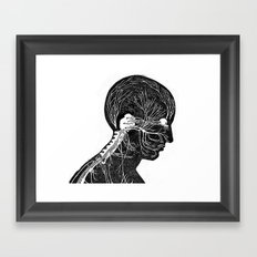 Behind it all Framed Art Print