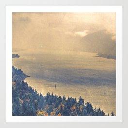 Classic Columbia Art Print