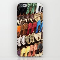 arabic iPhone & iPod Skins featuring Arabic Shoes by Ashley-liv
