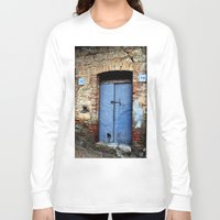 door Long Sleeve T-shirts featuring door by  Agostino Lo Coco