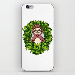 Stoned Sloth | Weed Cannabis THC CBD Ganja iPhone Skin