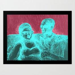 Ainda é cedo amor Art Print