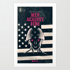 Men Against Fire Art Print