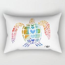 Hug a Sea Turtle Rectangular Pillow