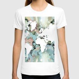 Design 96 world map T-shirt