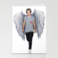 harry Stationery Cards featuring Harry by Guts N' Gore