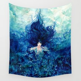 Sky From The Sea Wall Tapestry