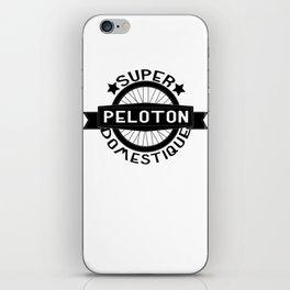 Peloton Super Domestique Retro Bike Bicycling iPhone Skin