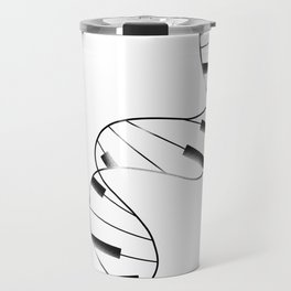 DNA Piano Travel Mug
