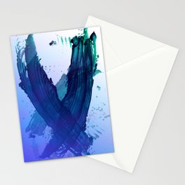 Atmospheric Blue Wings Stationery Cards