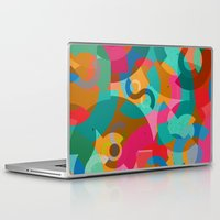 picasso Laptop & iPad Skins featuring Pattern Picasso by Tony Vazquez