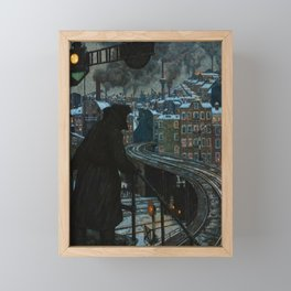 Working-Class City by Hans Baluschek, 1920 Framed Mini Art Print