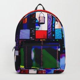 Glass Wind Chimes Backpack