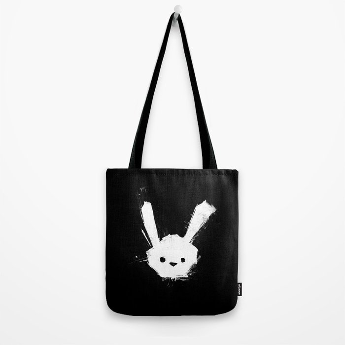 minima - splatter rabbit  Tote Bag