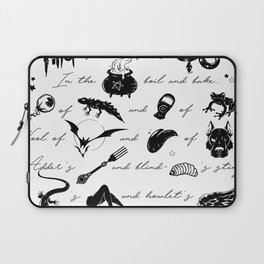 Macbeth Witches Chant Laptop Sleeve