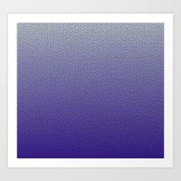 Shades of Ultraviolet Art Print