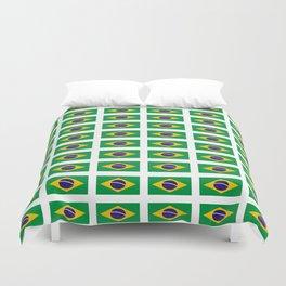 flag of brazil 4-Brazil, flag, flag of brazil, brazilian, bresil, bresilien, Brasil, Rio, Sao Paulo Duvet Cover