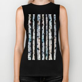 New Birch Trees Forest Biker Tank