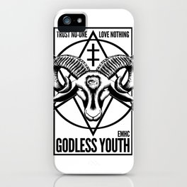 Godless Youth iPhone Case