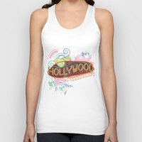 decorative Tank Tops featuring Decorative Typographic by famenxt