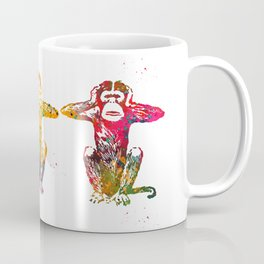 Three wise monkeys Coffee Mug