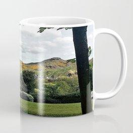The Mountains Of Edinburgh Scotland Coffee Mug
