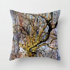Magic Dream of a Tree Throw Pillow