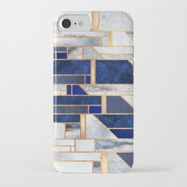 Blue Winter Sky iPhone Case