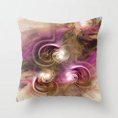 Magic Pearls Throw Pillow