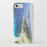 greek iPhone & iPod Cases featuring Greek coastline by Brian Raggatt