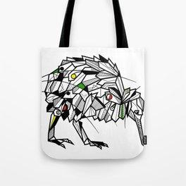 Kiwi Bird Geometric Tote Bag