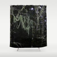 chandelier Shower Curtains featuring Nature's Chandelier by CSL2