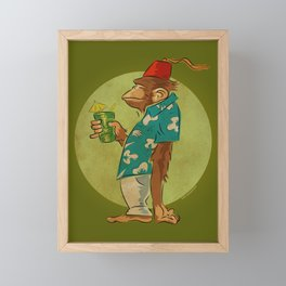 Bradbury The Ape Framed Mini Art Print