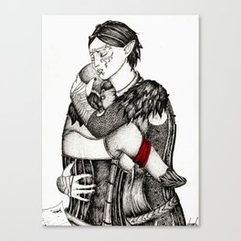 Letter from Varric Canvas Print