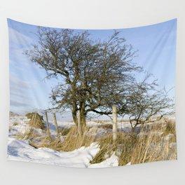 Peak District winter Wall Tapestry