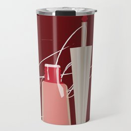 When Red Meets RED Travel Mug