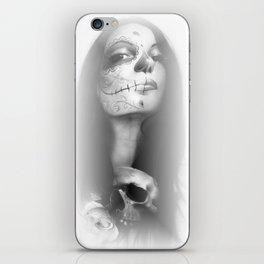 'Dia De Los Muertos Rachel' iPhone Skin