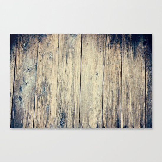 Wood Photography II Canvas Print