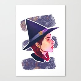 Witch - Magic Canvas Print