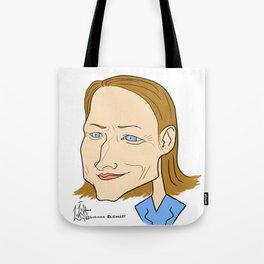 Jodie Foster Tote Bag