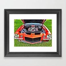 Car Engine Framed Art Print