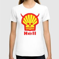 hell T-shirts featuring HELL by karmadesigner
