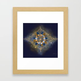 Treble Cosmos Framed Art Print