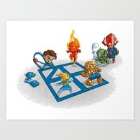 Fantastic 4Square Art Print