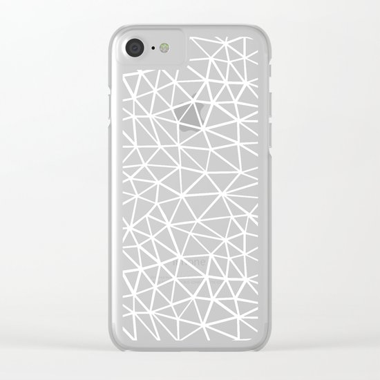 Seg R Black Clear iPhone Case
